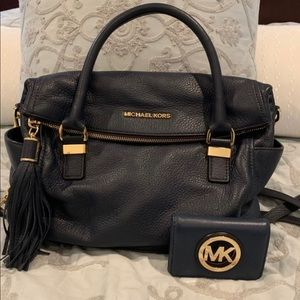 Clearance!! Michael Kors bag with wallet